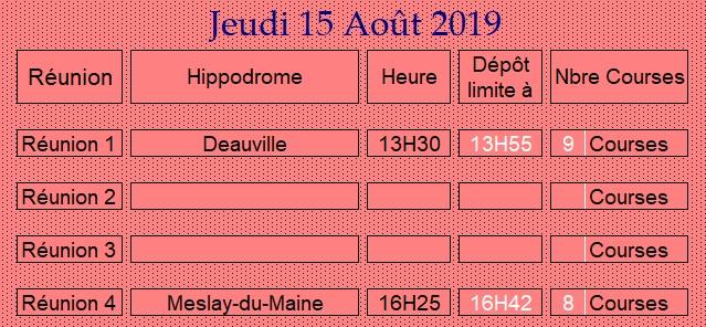 LA CAGNOTTE du Jeudi 15/08/2018 150816