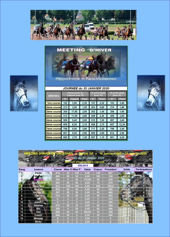 Résultats du Samedi 25/01/2020 2501_211