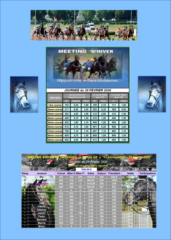 Résultats du Samedi 29/02/2020-CLT FINAL 2ème QUINZAINE 2902_211