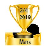 Résultats du Vendredi 15/03/2019 Deux_s14