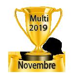 Résultats du Vendredi 15/03/2019 Multi21