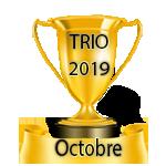 Résultats du Jeudi 18/04/2019 Trio21