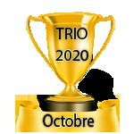 Résultats du Vendredi 21/12/2018   Trio30
