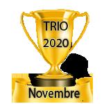 Résultats du Vendredi 16/10/2020 Trio31