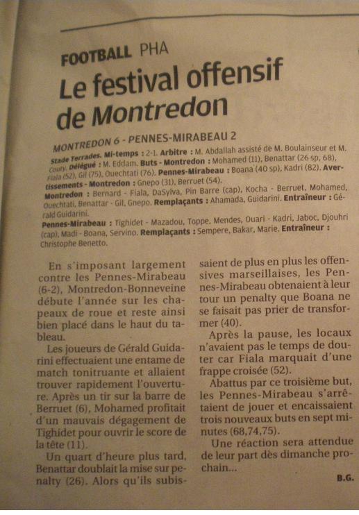 SC MONTREDON-BONNEVEINE Imgp9541