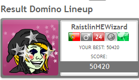 Games Tournament V - Round 3 - DOMINO LINEUP Domino10