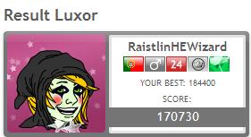 Games Tournament V - Round 4 - LUXOR Luxor10