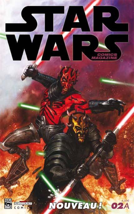 STAR WARS COMICS MAGAZINE #02 - MARS 2013 02a11