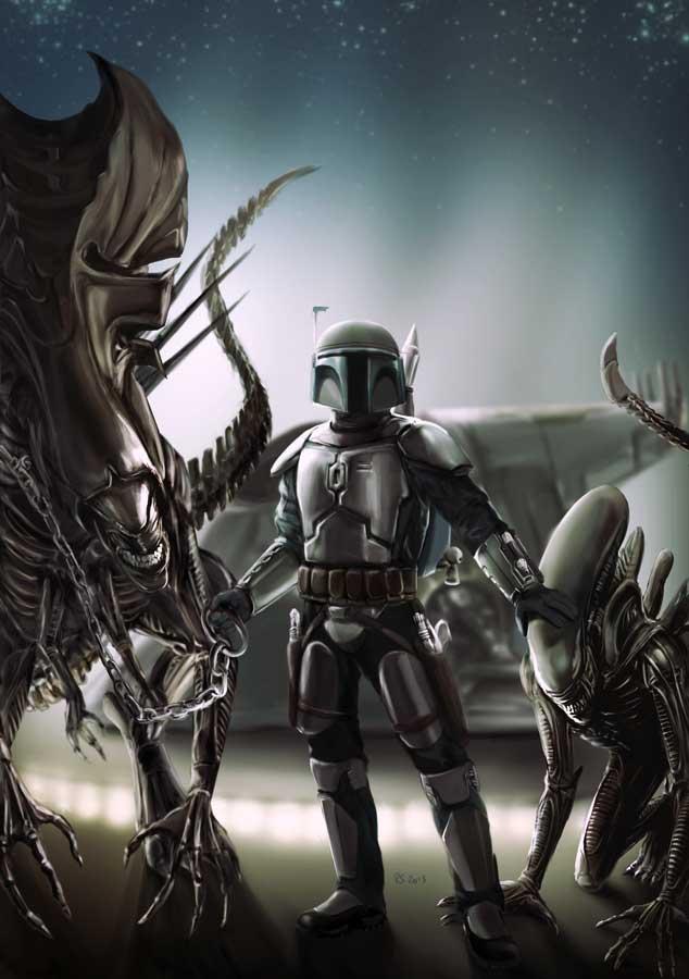 Star wars - Digital Art - Discussion générale Alien_10