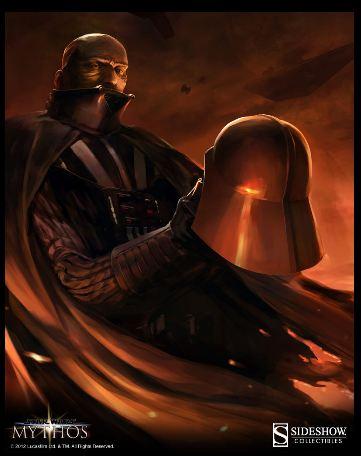 Sideshow - Mythos - Darth Vader - Dark Contemplations Mythos10