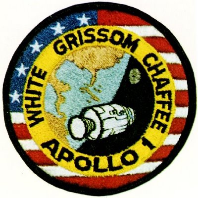 Cherche Badge Apollo 1 - tissus Apollo10