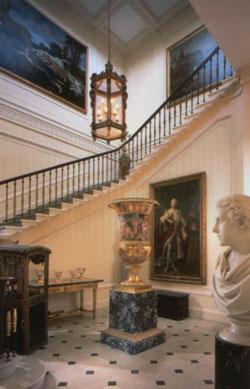 Robert Adam, architecte Ecossais Stairc10