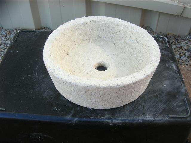 """""""Papercrete pots"""" Pot_po10"""