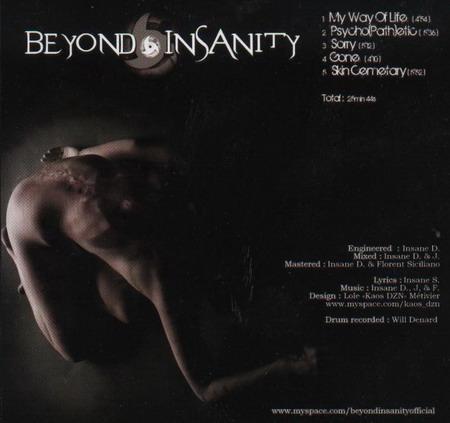 BEYOND INSANITY Beyond Insanity (2009) EP 00000013