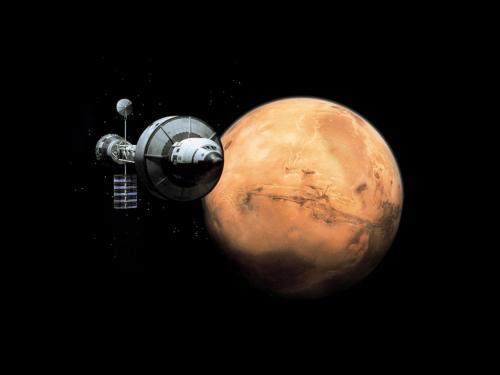 Recréer une pesanteur artificielle dans un vaisseau spatial Missio10