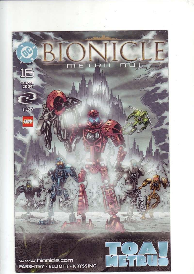 [Comics] VF des BD Bionicle : Toa Metru ! N°16 Save0106