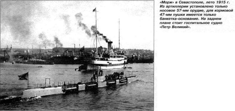 Sous marin Russe MORJ WW1 par Alex m au 1/350 résine epoxy PASCAL ROSIER 1510