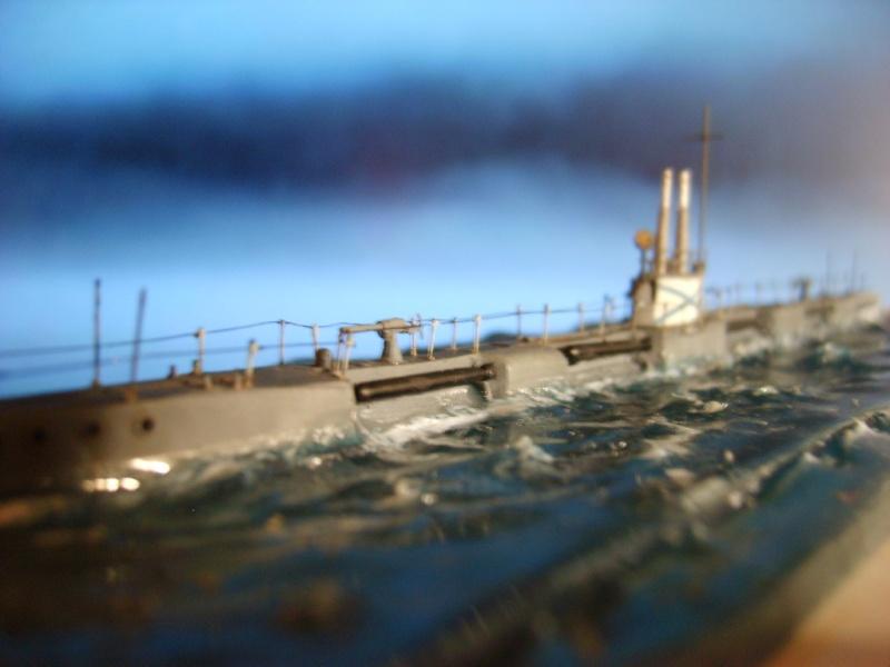 Sous marin Russe MORJ WW1 par Alex m au 1/350 résine epoxy PASCAL ROSIER S6000415