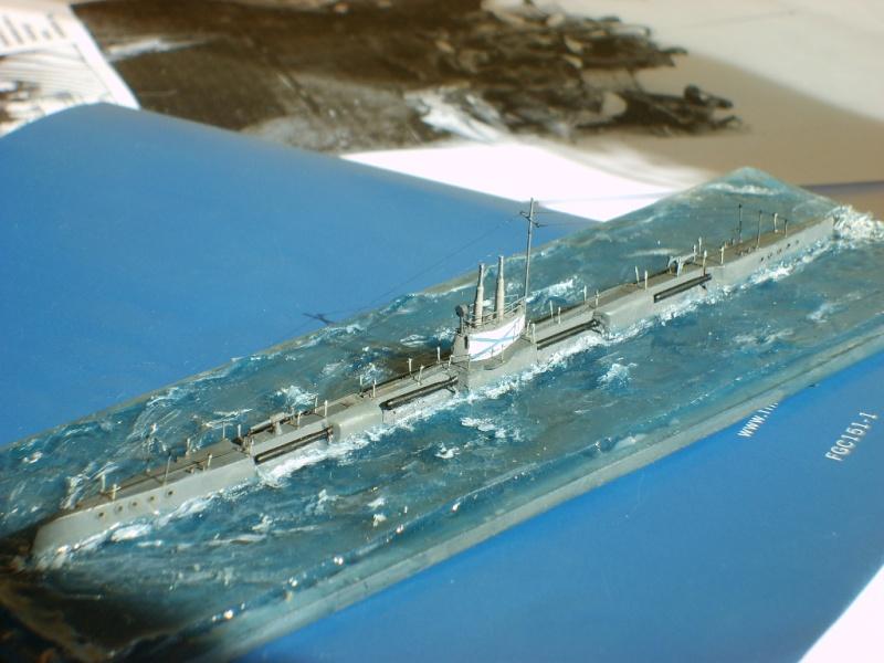 Sous marin Russe MORJ WW1 par Alex m au 1/350 résine epoxy PASCAL ROSIER S6000416