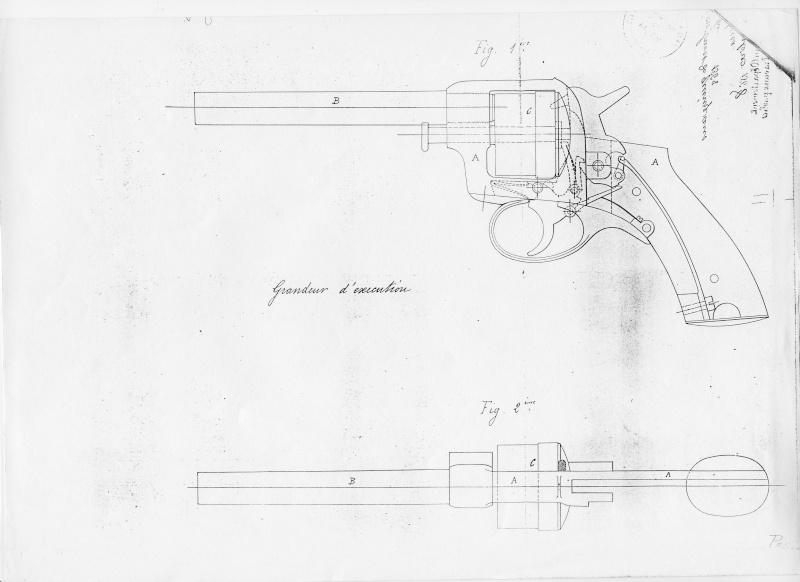révolver réglementaire Suédois Lefaucheux-Francotte modèle 1871  Brevet33