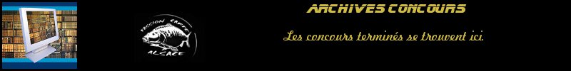 ARCHIVES CONCOURS