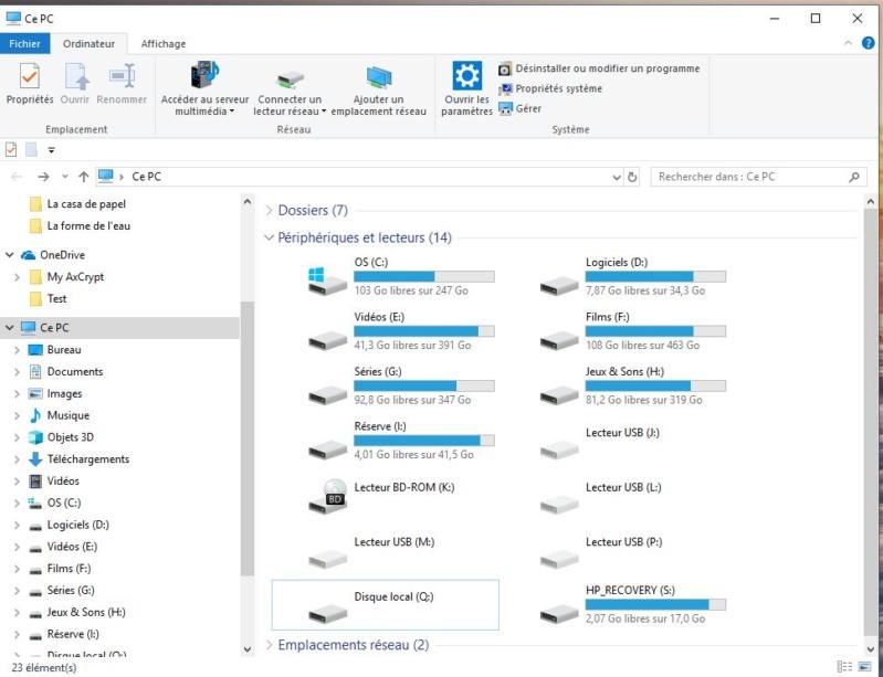 [résolu] Problème après une mise à jour de Windows 10 Presse16