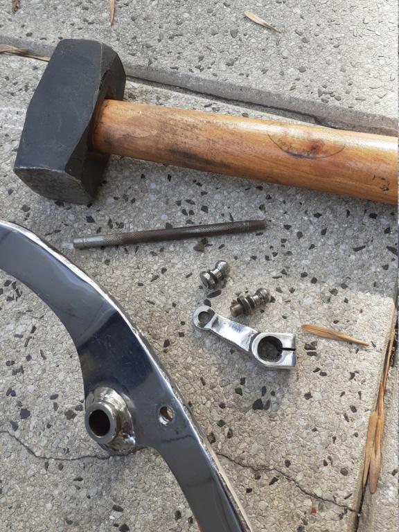 Palanca de Cambios (Speed Croussier ) Cambio de Rótulas  20200610