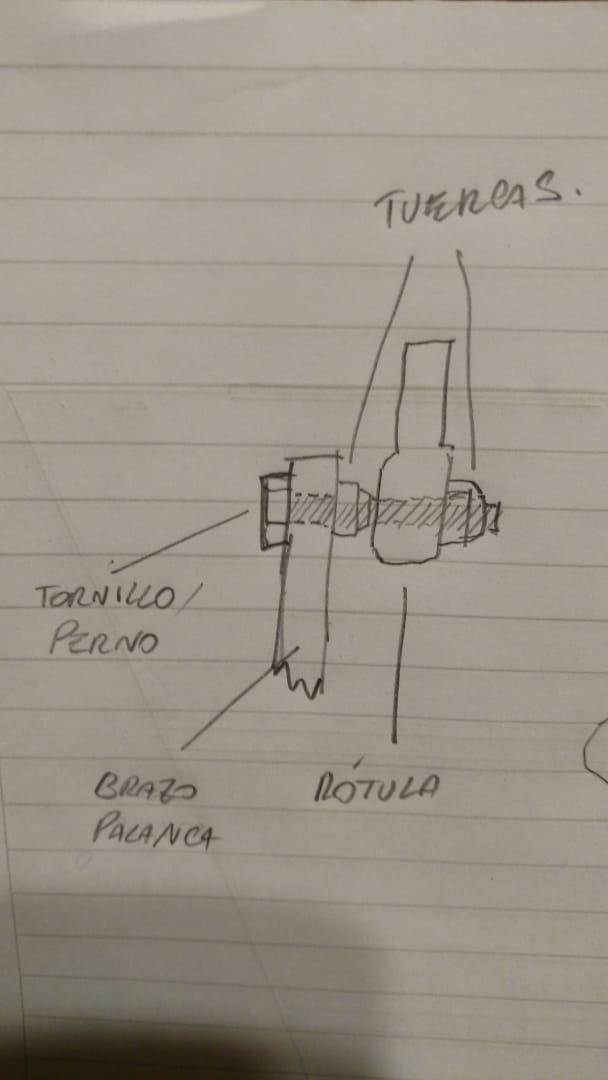 Palanca de Cambios (Speed Croussier ) Cambio de Rótulas  Img-2024