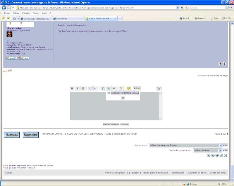 Comment inserer une image sur le forum avec SERVIMG.COM 0510