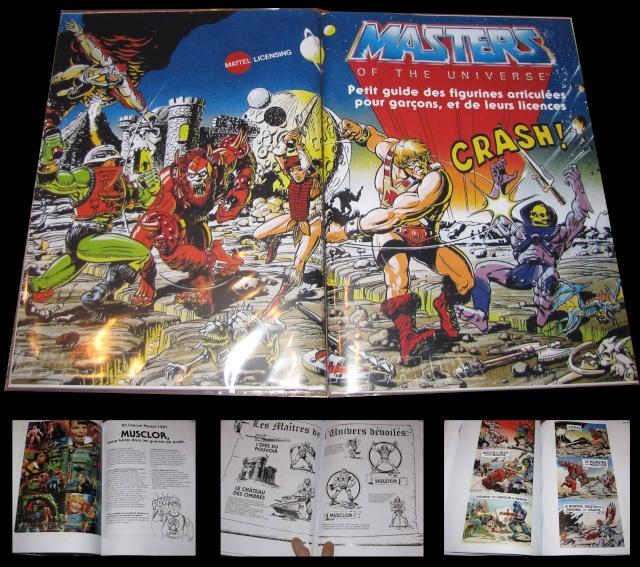 Livre Kit licences Mattel de 1981 & 82 Photo_10