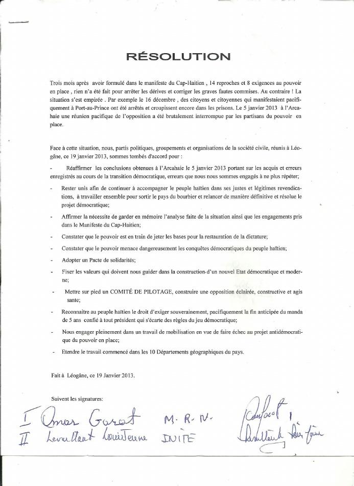 Haiti-opposition :Résolution de Léogane--Et après ! 1-d60510