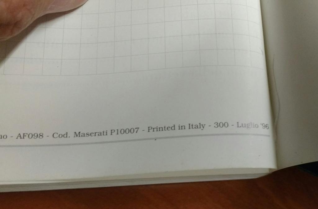 Libretto Uso e Manutenzione Quattroporte IV 1997 Uso_qp11