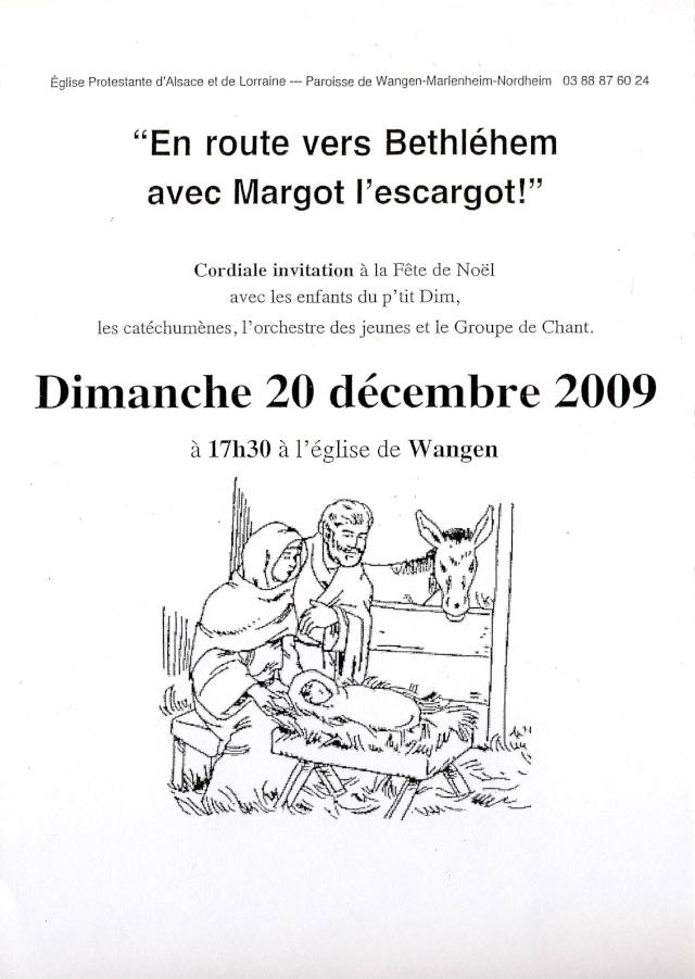 Fête de Noël du dimanche 20 décembre 2009 en l'église de Wangen Image013
