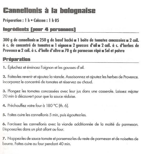 Cannellonis à la bolognaise Cannel10