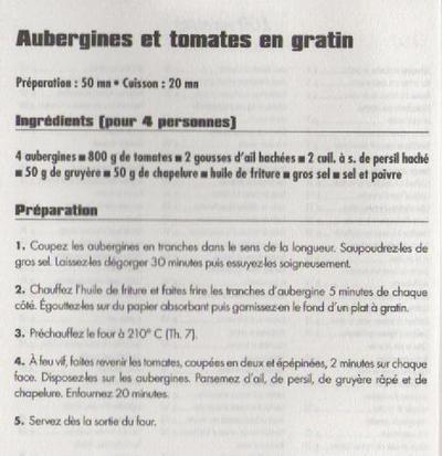 Aubergines et tomates en gratin Tomate10