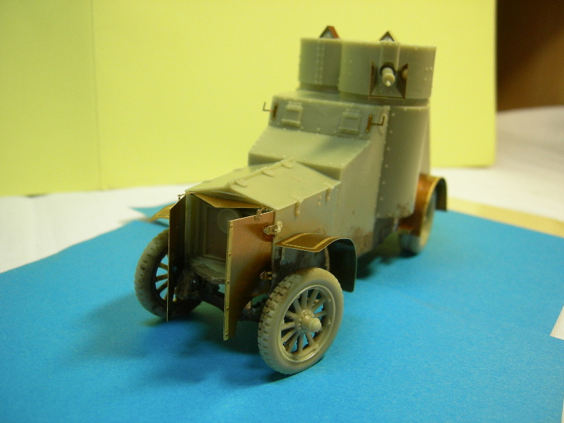 Armstrong-Whitworth- Fiat (Izorski) Russian armored Car WW I Montag17