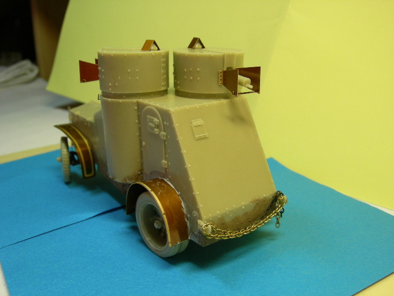 Armstrong-Whitworth- Fiat (Izorski) Russian armored Car WW I Montag18