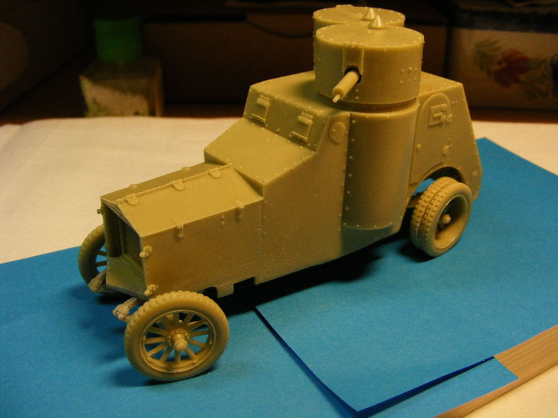 Armstrong-Whitworth- Fiat (Izorski) Russian armored Car WW I Sur_le10