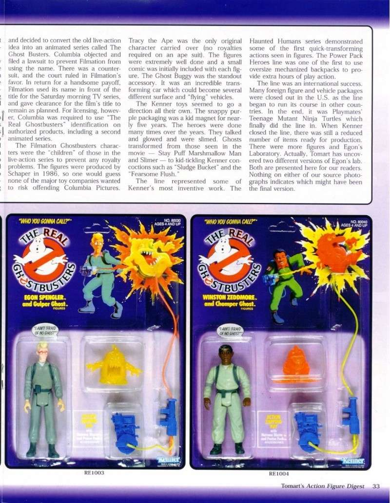 S.O.S Fantômes / The Real Ghostbusters (Kenner) 0215