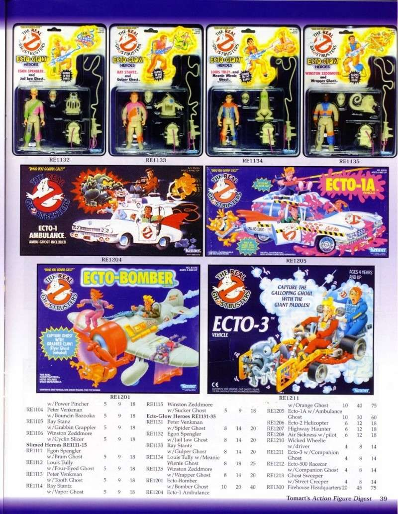 S.O.S Fantômes / The Real Ghostbusters (Kenner) 0814