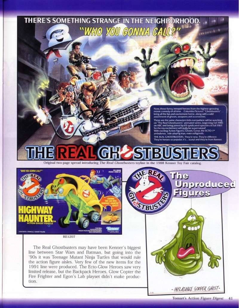 S.O.S Fantômes / The Real Ghostbusters (Kenner) 1013