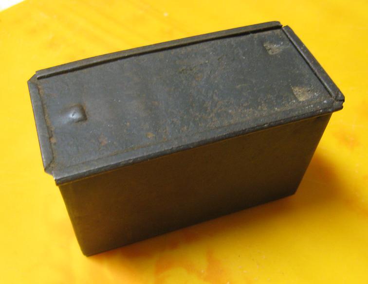 Identification d'une boite métallique. Box110