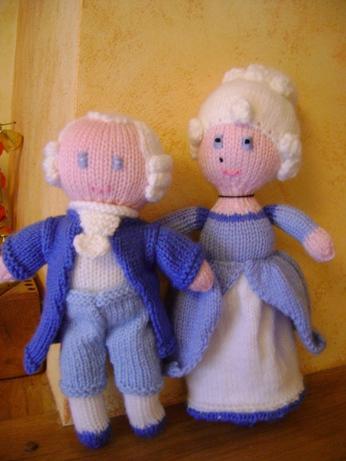 MARIE-ANTOINETTE ET LOUIS XVI AU TRICOT Couple10