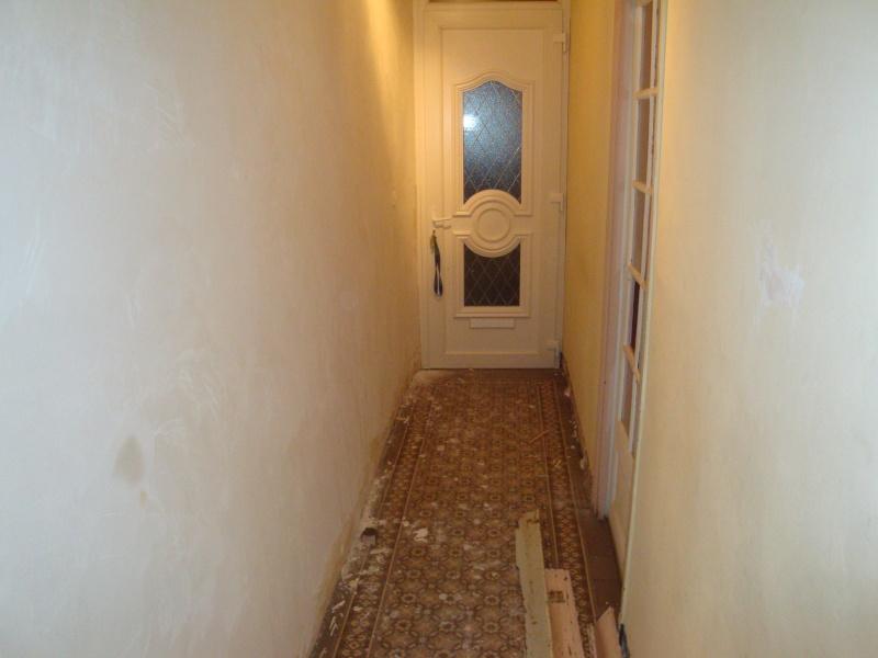 Carrelage et mur de mon couloir Entree10