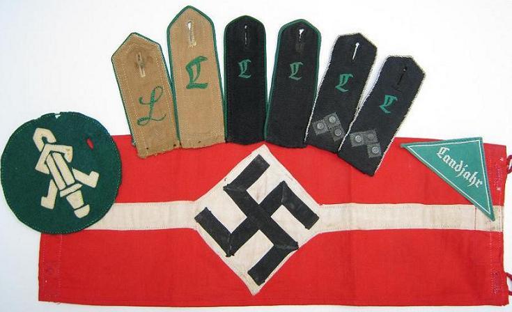 Les grades dans la Hitlerjugen Group110