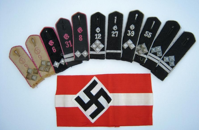 Les grades dans la Hitlerjugen Groups10