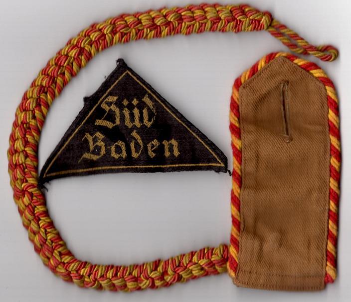 Les grades dans la Hitlerjugen Sudbad10