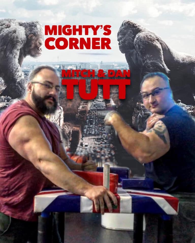 In mightys corner , Uk armwrestling  782bba10