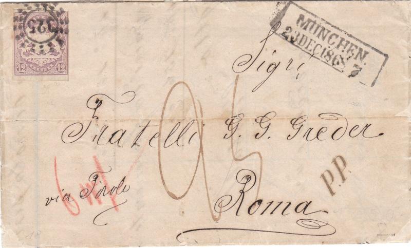 Transitpostverhältnisse Österreichs zu Bayern 1850 - 75 Img_0011