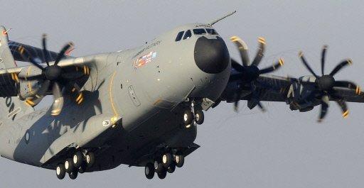 L'Airbus A400M a décollé pour son premier vol d'essai A_400_11